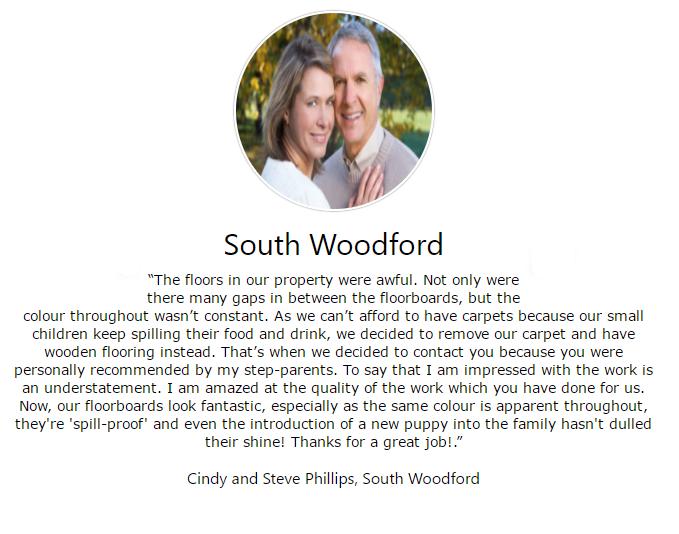 Experts in Floor Sanding & Finishing in Floor Sanding South Woodford
